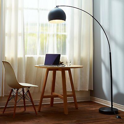 Modern Arc Floor Lamp Industrial Minimalist Lighting Contemporary Light  Gift NEW