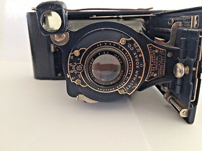 Vintage Kodak Rainbow Hawk-Eye No 2A Folding Special Camera