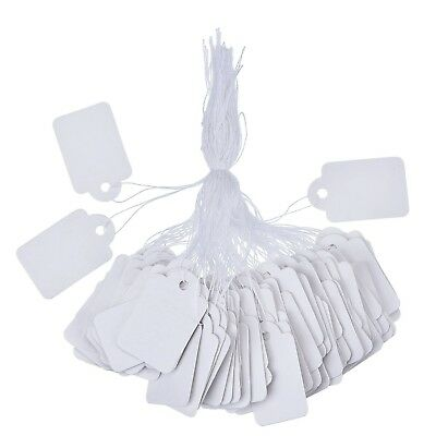 Outus White Marking Tags Price Tags Price Labels Display Tags with Hanging St...