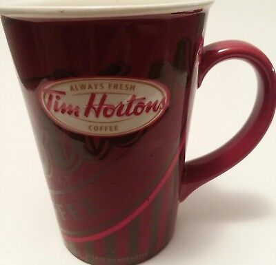Tim Hortons Limited Edition Coffee Cup mug #008 2008 Red Always Fresh