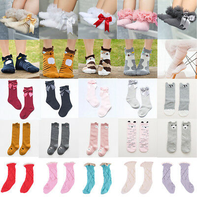 1 Pairs Baby Boy Girl Cartoon Cotton Socks NewBorn Infant Toddler Kids Soft Sock