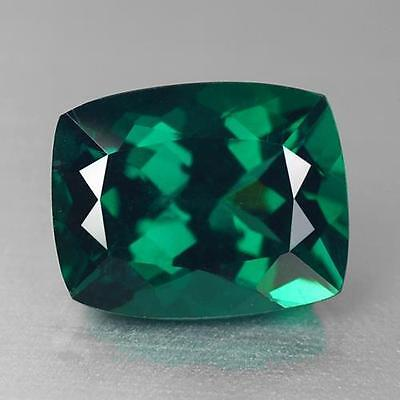 3.45Cts 10.00 x 7.98 x 5.93 MM 100% Natural Grass Green Color Brazil Apatite