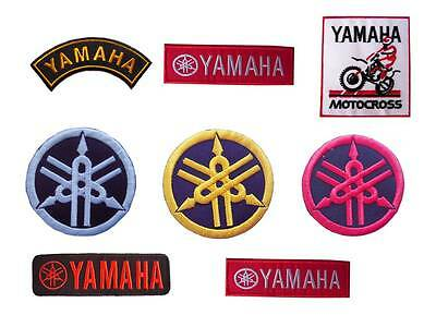 New Yamaha Motorcycle Racing embroidered iron on patches.