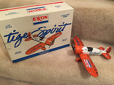Exxon Collector Series 1929 Travelair Model R Airplane Bank With Box
