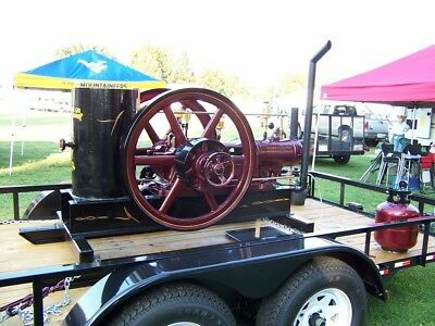 Bessemer 5 Horse Antique Gas Engine
