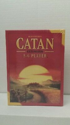 Brand New (other) Settlers of Catan Board Game 5th Edition 5-6 Player EXTENSION