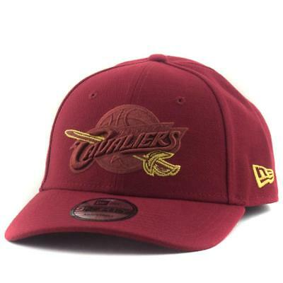 Cleveland Cavaliers New Era NBA Team 9Forty Hat In Maroon Genuine Merchandise