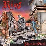 Thundersteel by Riot (CD, 1988, CBS ZK-44232) Early USA, UPC 886972507828