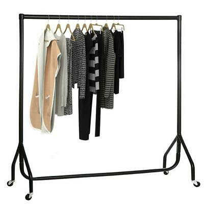 High Quality Rail 4/5/6FT Clothes Garment Hanging Rack Retail Display Stand
