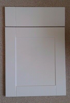 Kitchen Cupboard Doors Shaker High Gloss White To Fit Howdens Mfi B Q Cabinets 10 77 Picclick Uk