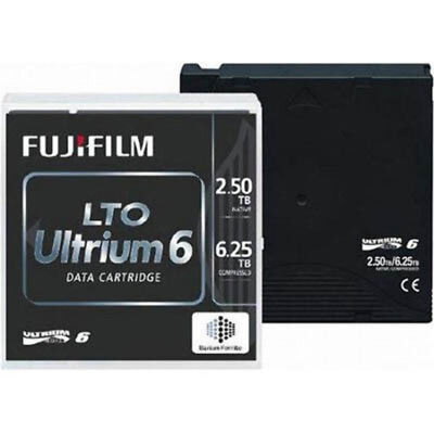 Fujifilm Lto 6F Ultrium Data Cartridge 2.5Tb - 6.25Tb
