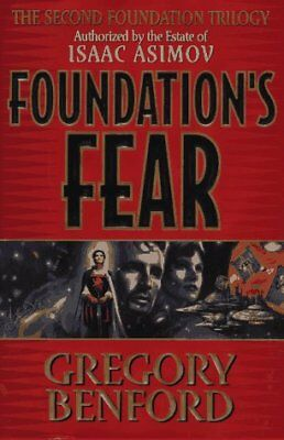 FOUNDATION'S FEAR (SECOND FOUNDATION TRILOGY) By Isaac Asimov - Hardcover *VG+*