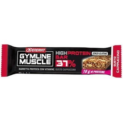 GymLine Muscle protein bar 37% 42g cappuccino