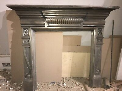 Cast Iron Fire Surround + Tiled Insert