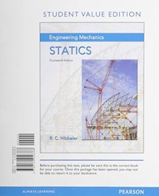 New engineering mechanics statics 14e russell c hibbeler 14th si engineering mechanics statics student value edition 14th edition fandeluxe Image collections