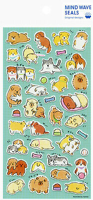 "Mind Wave ""Shiba, Pug, Poodle and Other Breeds"" (Dog) Stickers"