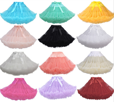 Fashion Short Fancy Swing Vintage Wedding Petticoat Net Underskirt Dance Skirt