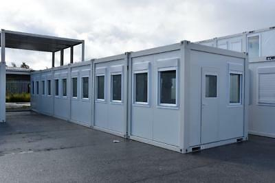 Portable Building New Modular Building 6 Bays 48' x 10' Site Office