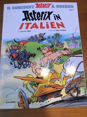 "Asterix Comic: "" Asterix In Italien "" Band 37"