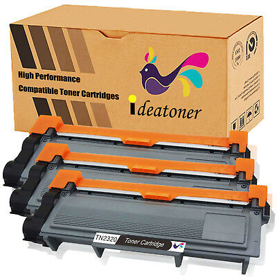 3 Toner Xl Per Brother Tn2320 Mfc-L2700Dw L2300D L2360Dn L2365Dw L2520Dw L2340Dw