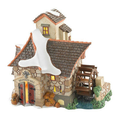 New Department 56 Dickens Village Brandon Mill Lit House