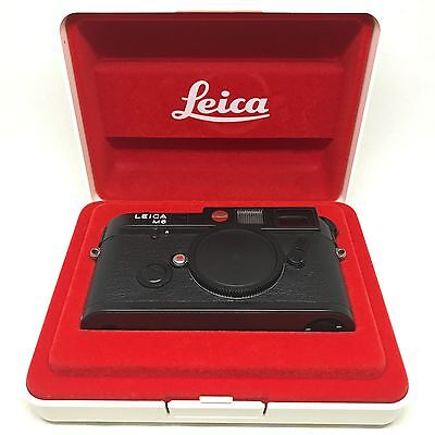 [MINT in BOX] Leica M6 0.72 35mm Rangefinder Body Black from japan 620 Read!!