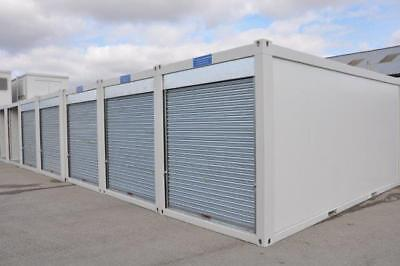 TF Jackson Portable Building New 20′ x 8′ Store With Roller Shutter