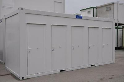 TF Jackson Portable Building New 20′ x 8′ Three Toilets and Two Showers