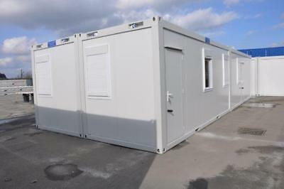 T F Jackson's New Portable Open Plan Building 4 Bay 40' x 16'