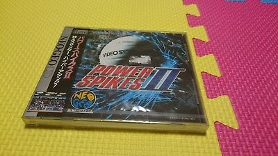 Power Spikes II for Neo Geo CD BRAND NEW SEALED ORIGINAL RARE