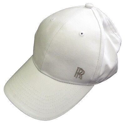 Genuine Rolls-Royce Cap RR Baseball Cap White 80212208553