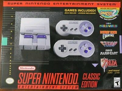 Super Nintendo Entertainment System: Super NES Classic Edition Mini