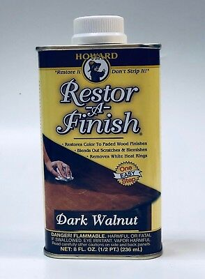 Howard - Restor-A-Finish, Dark Walnut, 8 oz