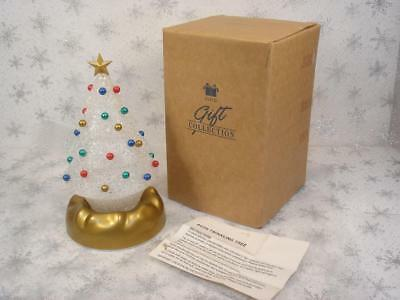 Vintage Avon Gift Collection Light Up Color Changing Twinkling Tree In Box