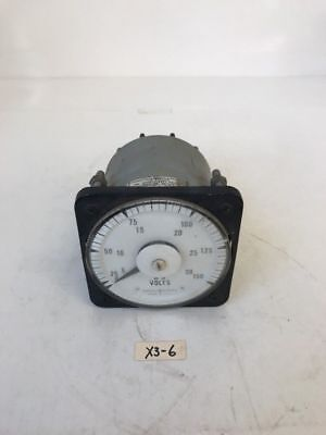 GE AC Voltmeter 234-16-143 *Fast Shipping* Warranty!