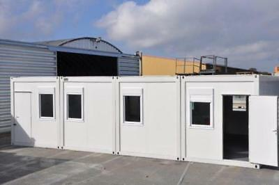 Portable Building New Modular Building 4 Bays 20' x 32' / 6m x 10m Site Office