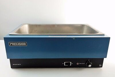 "Precision Scientific Model 185 Hot Water Bath Stainless Steel 19"" X 11"" X 6"""