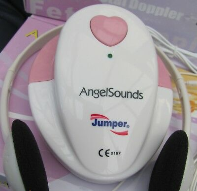 Angelsounds `Jumper' Fetal Doppler ultra sound baby heart monitor  CE . New