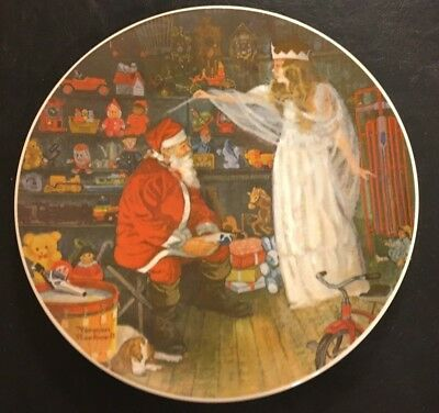 Norman Rockwell THE SNOW QUEEN ~ 1979 First Edition ~ Collector's Plate