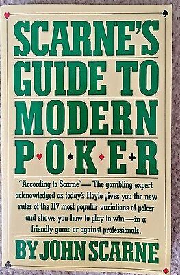 Scarne's Guide To Modern Poker (Paperback)