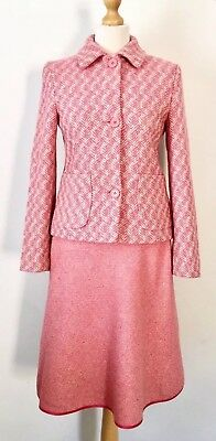 Boden Ladies Pure New Wool Jacket Wool & Silk Blend Skirt Suit , Size 8 R