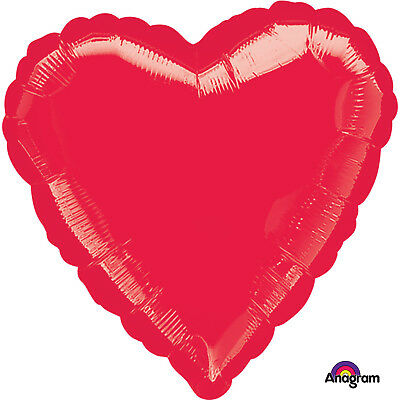 "18"" RED HEART Shape Helium Foil Balloons VALENTINE"