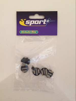 Scalextric C8329 Guide Blade and 4 Braid Plates NEW Sealed