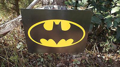 Batman Superhero Cartoon Characters CollectibleTin Wall Decor Man Cave Sign NEW