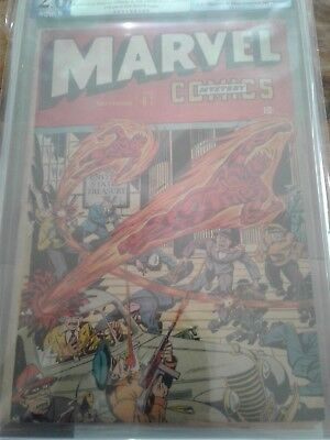 Marvel Mystery Comics #67 1945 Timely Schomburg CFO PGX not CGC or CBCS