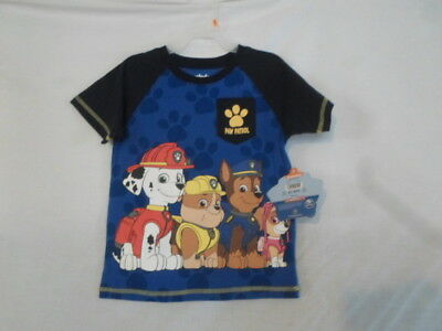 NWT Boy's PAW PATROL T-Shirt by Nickelodean Size 4T