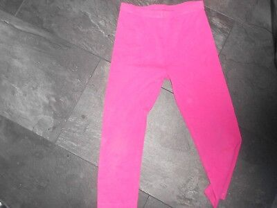 George girls pink leggings  - age 9-10 years