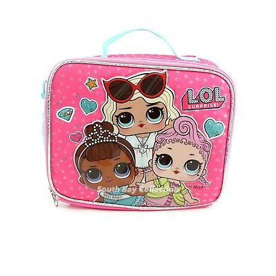 LOL Surprise Lunch Box Bag 'Hi Bae' Tots Doll Themed Lunchbox for Kids Girls