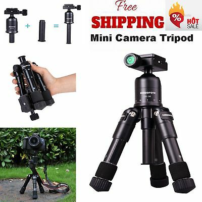 Mini Portable Professional Aluminium Tripod&Ball Head Travel for DSLR Camera SLR