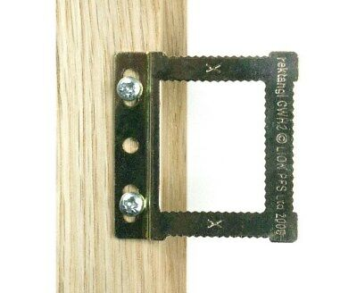 Cwh2 Square Sawtooth Hangers  **Free P&P**